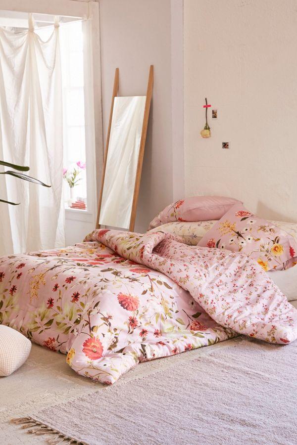 Daniella Floral Comforter Urban Outfitters Canada