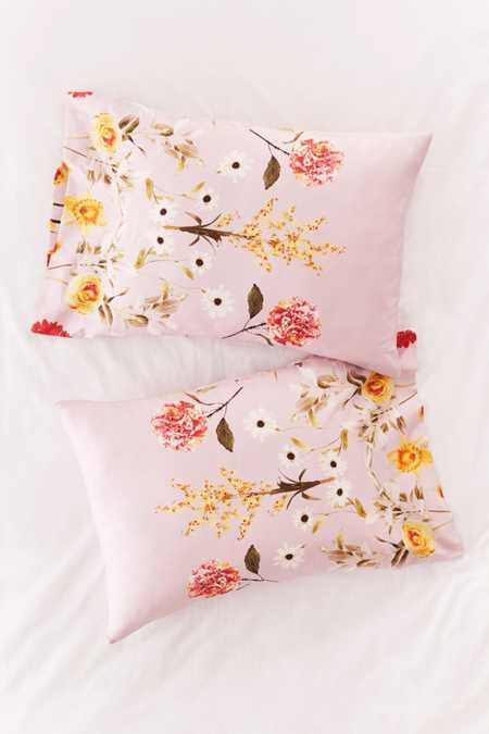 Daniella Floral Pillowcase Set