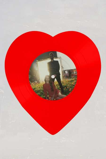 "Lana Del Rey - Love/Lust For Life Limited Heart-Shaped 10"" LP"