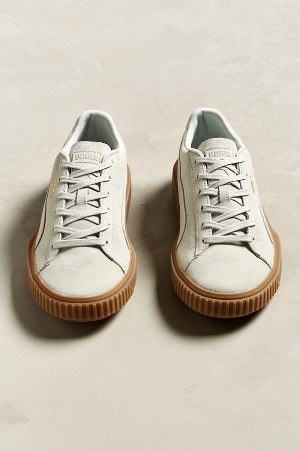 puma breaker suede gum sole sneaker