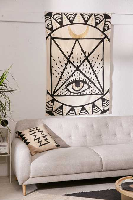 Graphic Eye Tapestry