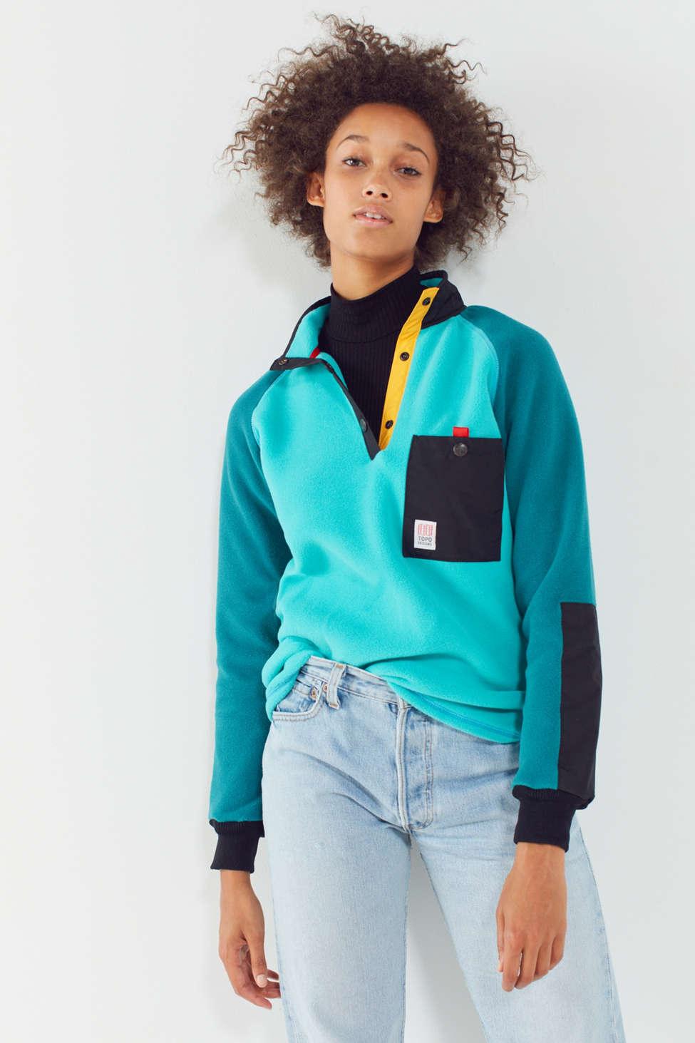 TOPO Designs Mountain Fleece Jacket | Urban Outfitters Canada