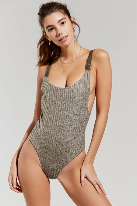 Virginia Grey Swimsuit