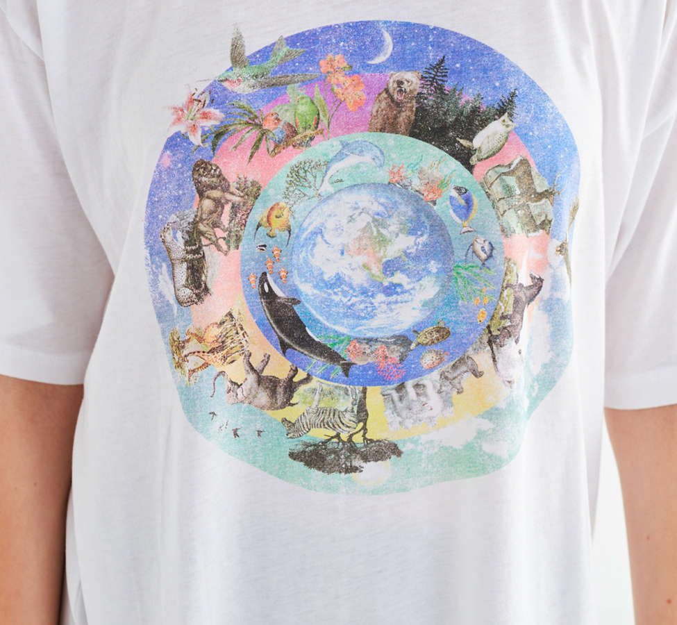 Slide View: 4: Future State Wonderful World Tee
