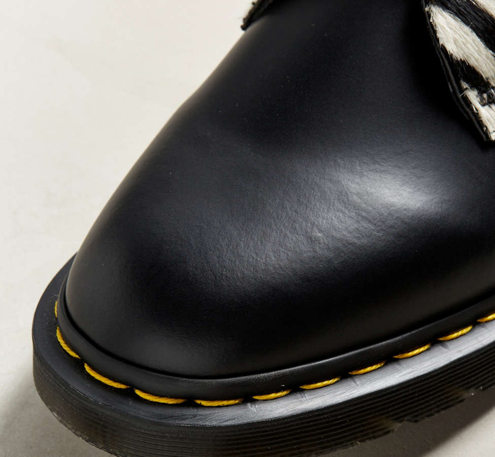 Slide View: 3: Dr. Martens 1461 Zebra Shoe