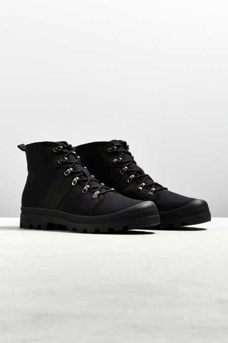 UO Justin Canvas Lace-Up Boot