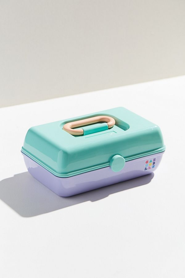 Slide View: 1: Caboodles Vintage Pretty Makeup Case