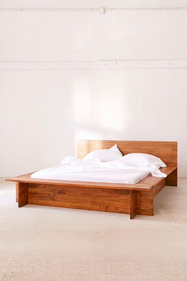 Slide View 4 Modern Boho Platform Bed Frame