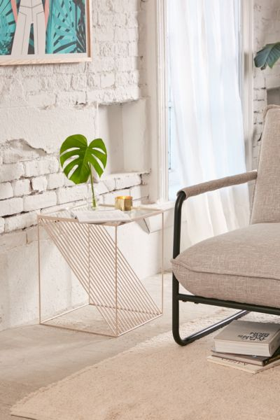Optic Lines Side Table