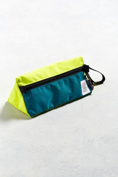 Topo Designs Dopp Kit - Turquoise One Size at Urban Outfitters