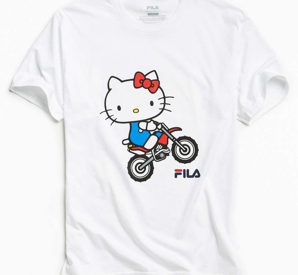 Slide View: 1: FILA X Sanrio For UO Wheelie Tee