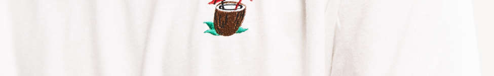 Thumbnail View 3: Riot Society Embroidered Coconut Tee