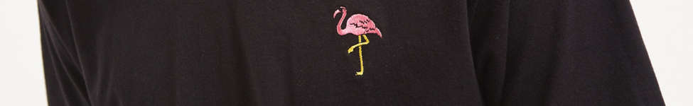 Thumbnail View 4: Riot Society Embroidered Flamingo Tee