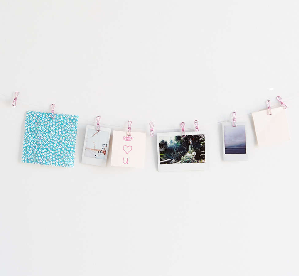 Slide View: 2: Mini Metal Clip Photo Display Banner