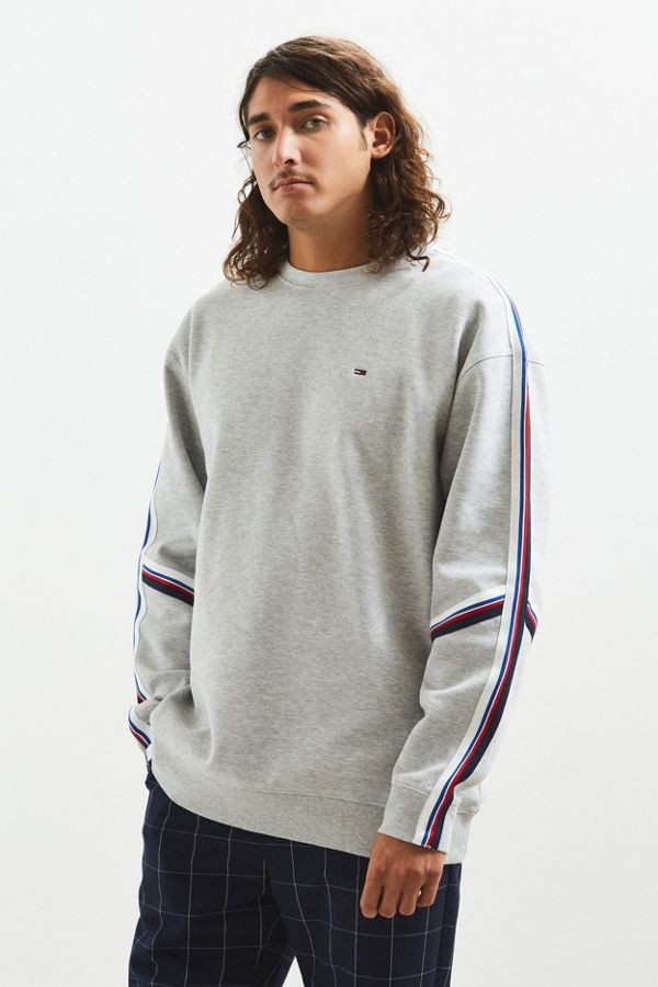 Your Urban Outfitters Gallery. Tommy Hilfiger Racing Stripe Crew Neck  Sweatshirt 4e46e12987