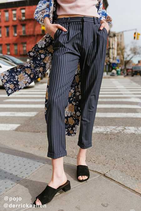 Light Before Dark Pleat Front Pant