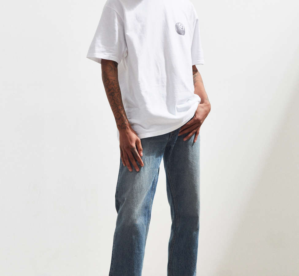 Slide View: 6: Calvin Klein River Blue Tapered Straight Jean