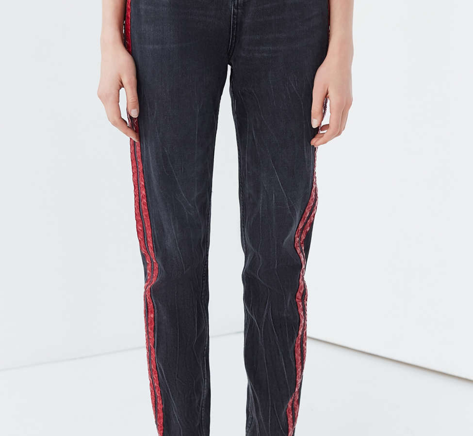 Slide View: 2: BDG Mom Jean – Side Stripe