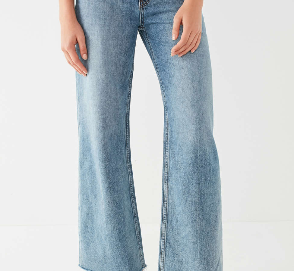 Slide View: 4: Jeans à taille haute et jambe large Piper BDG