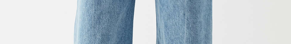 Thumbnail View 6: Jeans à taille haute et jambe large Piper BDG