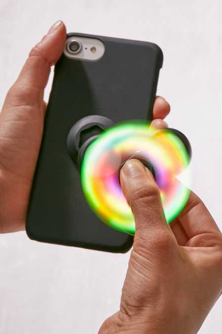 LED Fidget Spinner iPhone 8/7/6/6s Case