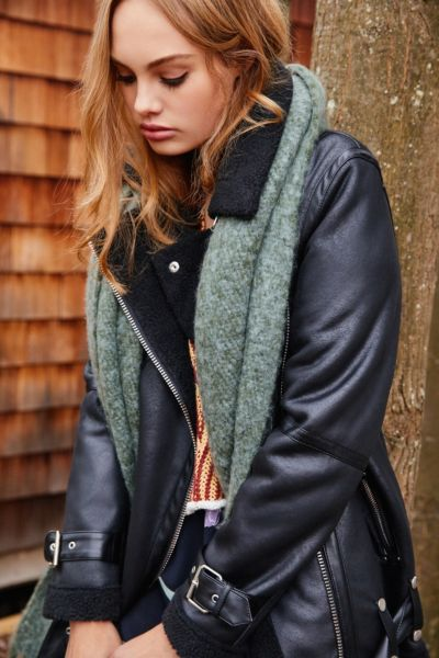 Women S Leather Suede Jackets Urban Outfitters