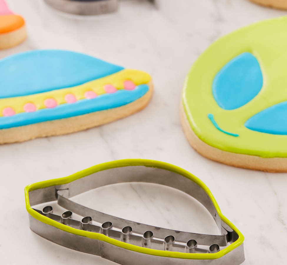 Slide View: 5: Outer Space Cookie Cutter Set