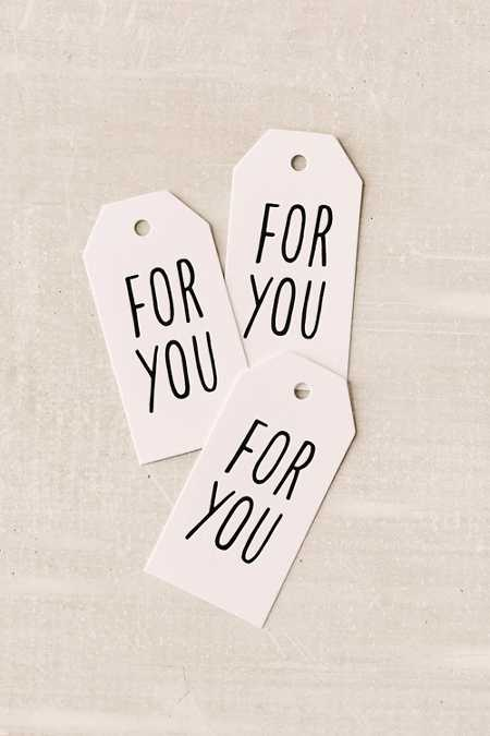ASHKAHN For You Gift Tag Set