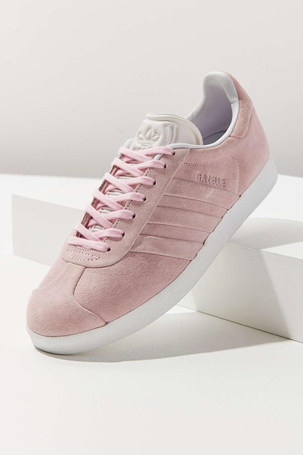 Adidas Originals Gazelle Stitch And Turn W Pink Sneakers