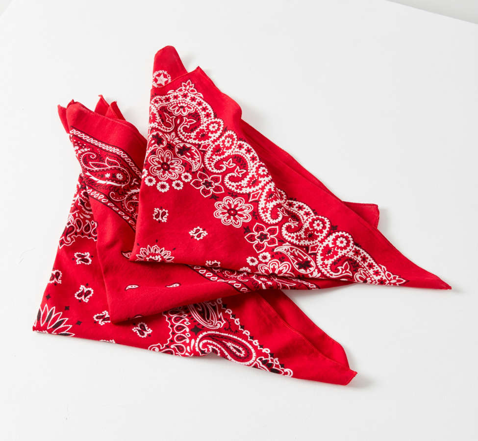 Slide View: 1: Vintage Washed Bandana