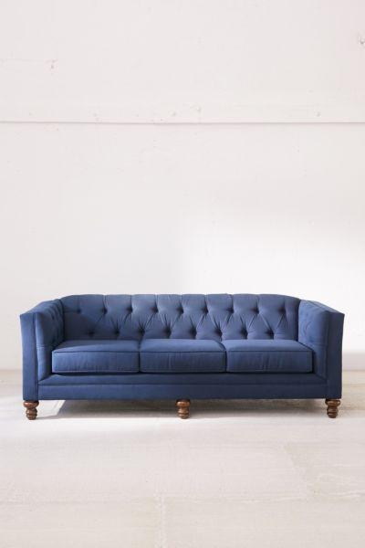 Graham Microfiber Sofa Urban Outfitters