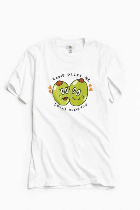 That Food Cray !!! Olive Tee