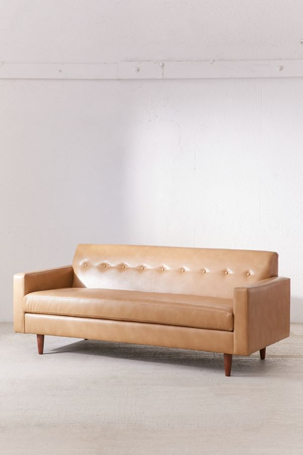 Slide View 3 Sydney Recycled Leather Sofa
