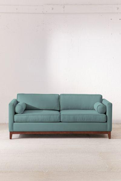 Piper Petite Microfiber Sofa Urban Outfitters