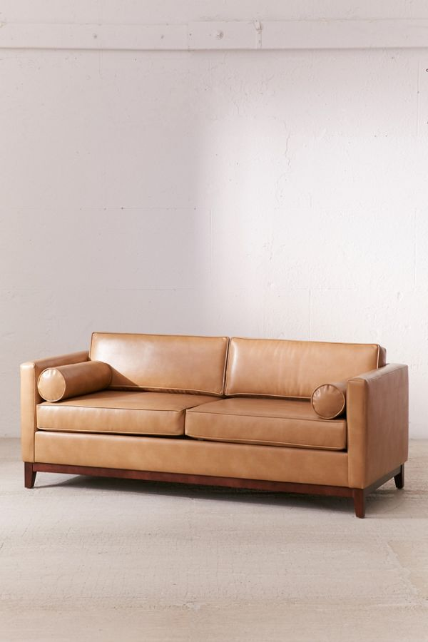 Slide View 3 Piper Pee Recycled Leather Sofa