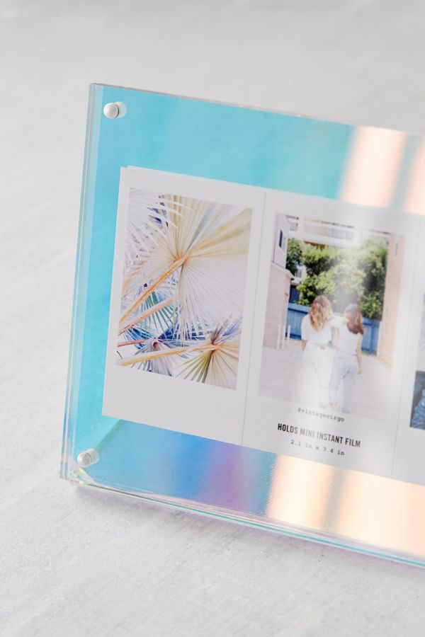 Modern Iridescent Acrylic Multi Frame | Urban Outfitters