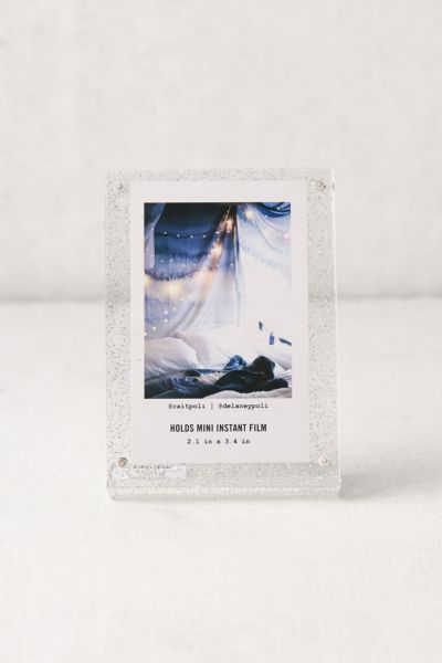 Modern Instax Glitter Frame - Multi One Size at Urban Outfitters