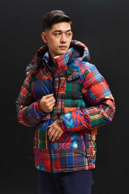 Polo Ralph Lauren Patchwork Puffer Jacket