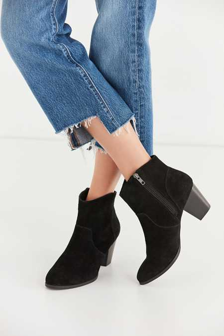 Westie Suede Ankle Boot
