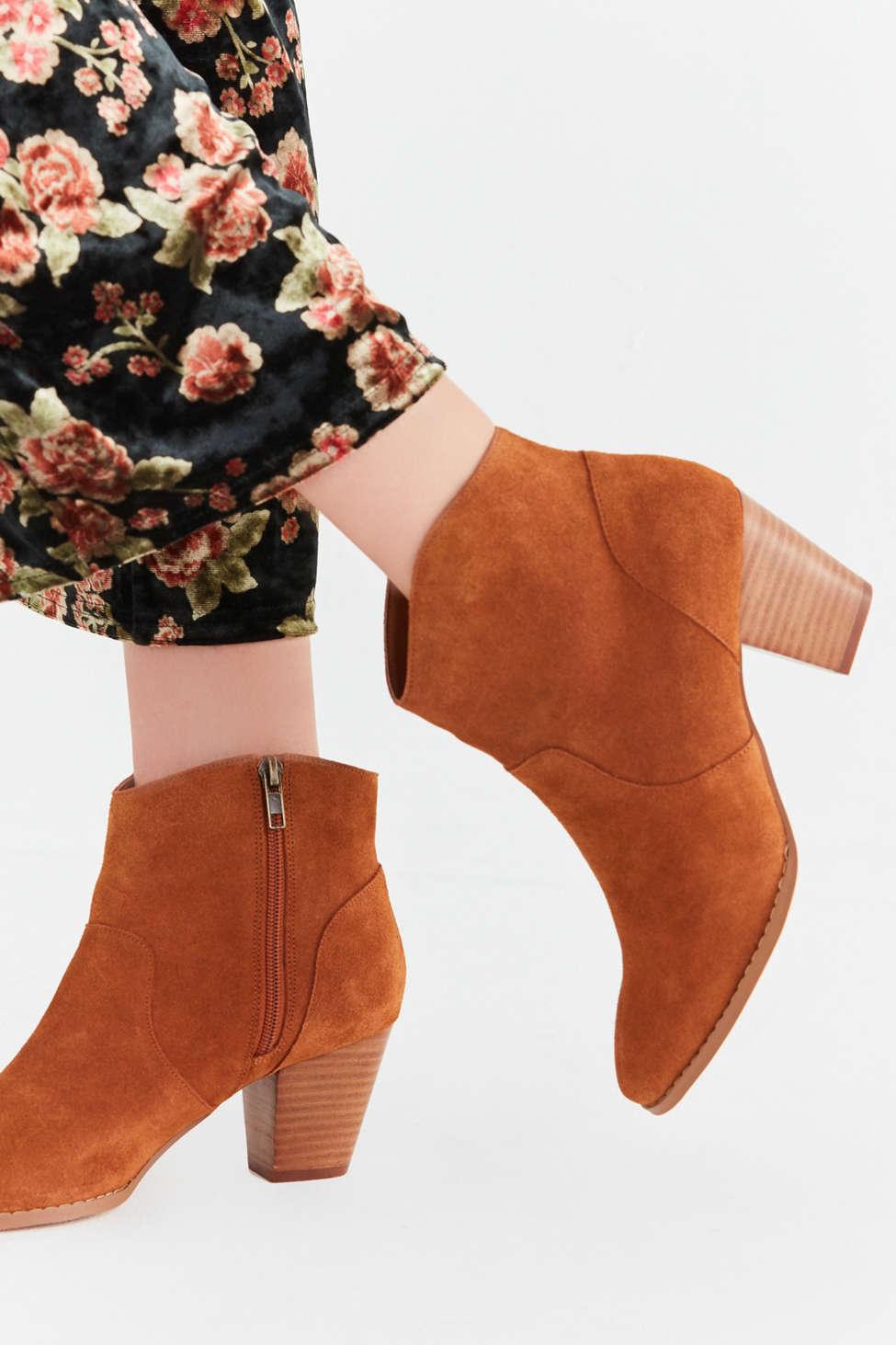 Westie Leather Bootie