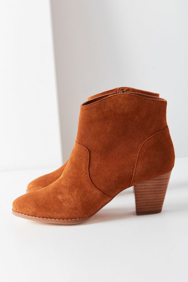 Westie Leather Bootie SelskAsZEY
