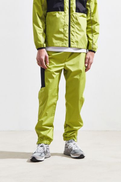 Stussy Side Pocket Pant - Lime S at Urban Outfitters