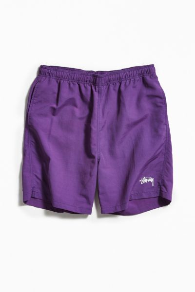 Stussy Water Short - Purple S at Urban Outfitters