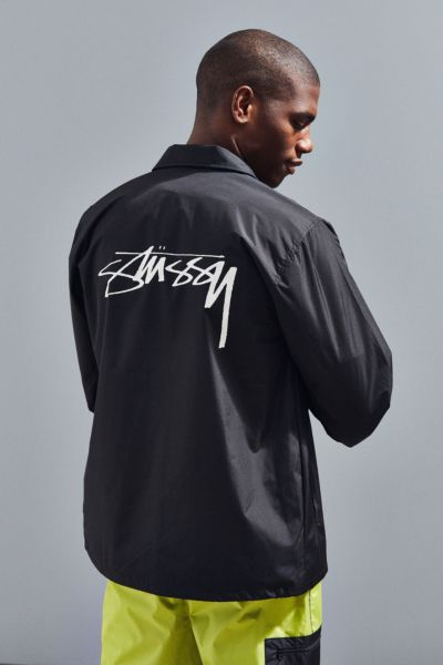 Stussy Cruize Coach Jacket - Black S at Urban Outfitters