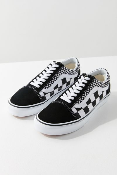 vans mix checkerboard old skool sneaker urban outfitters