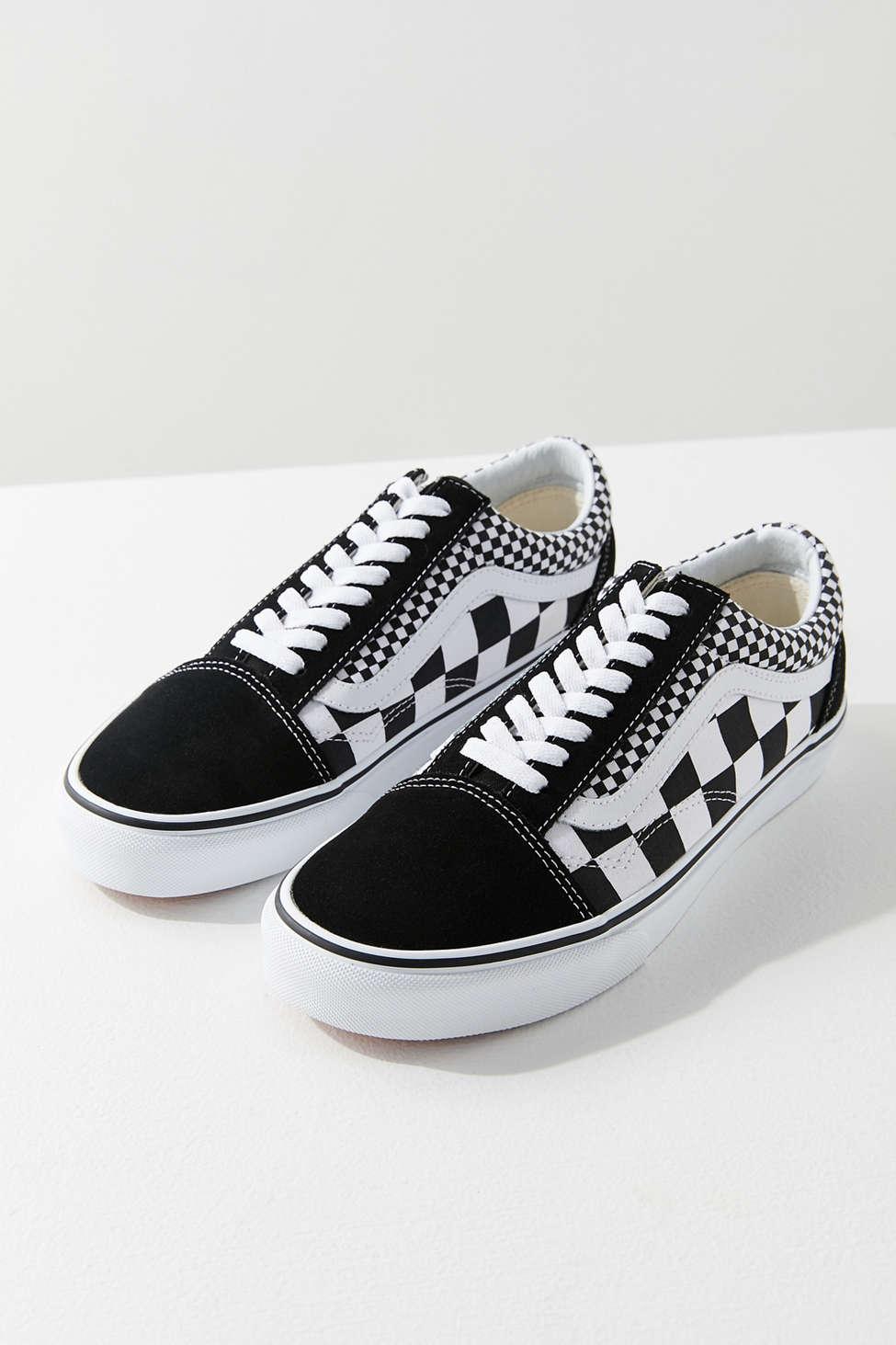 Vans Mix Checkerboard Old Skool Sneaker Urban Outfitters