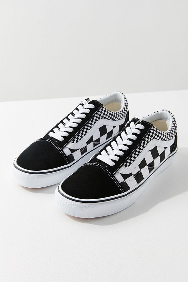 vans old skool damen checker