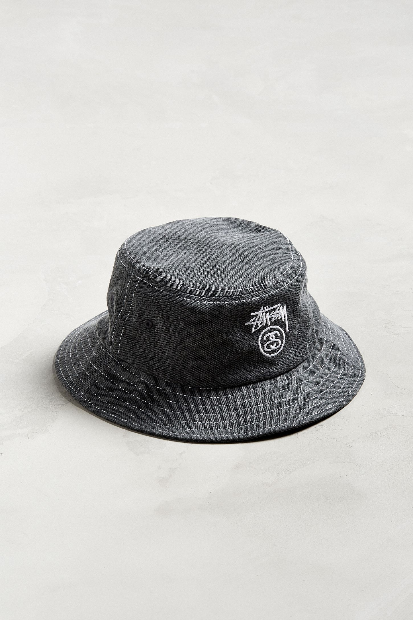 Stussy Washed Stock Lock Bucket Hat. Tap image to zoom. Hover to zoom.  Double Tap to Zoom 0888db4db49c