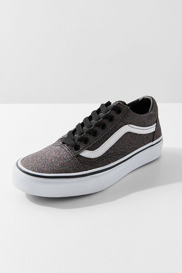 61fb21e7d09 Vans Chunky Glitter Old Skool Sneaker in Metallic Silver. - size 9 (also in