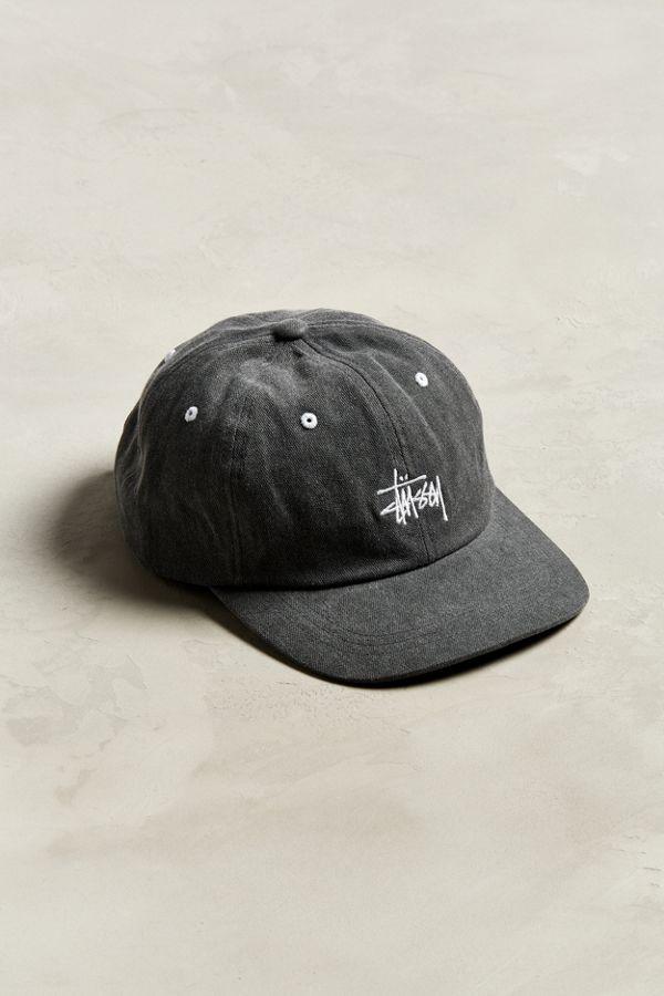 Stussy Washed Stock Lo Pro Baseball Hat  5c6aae63db0